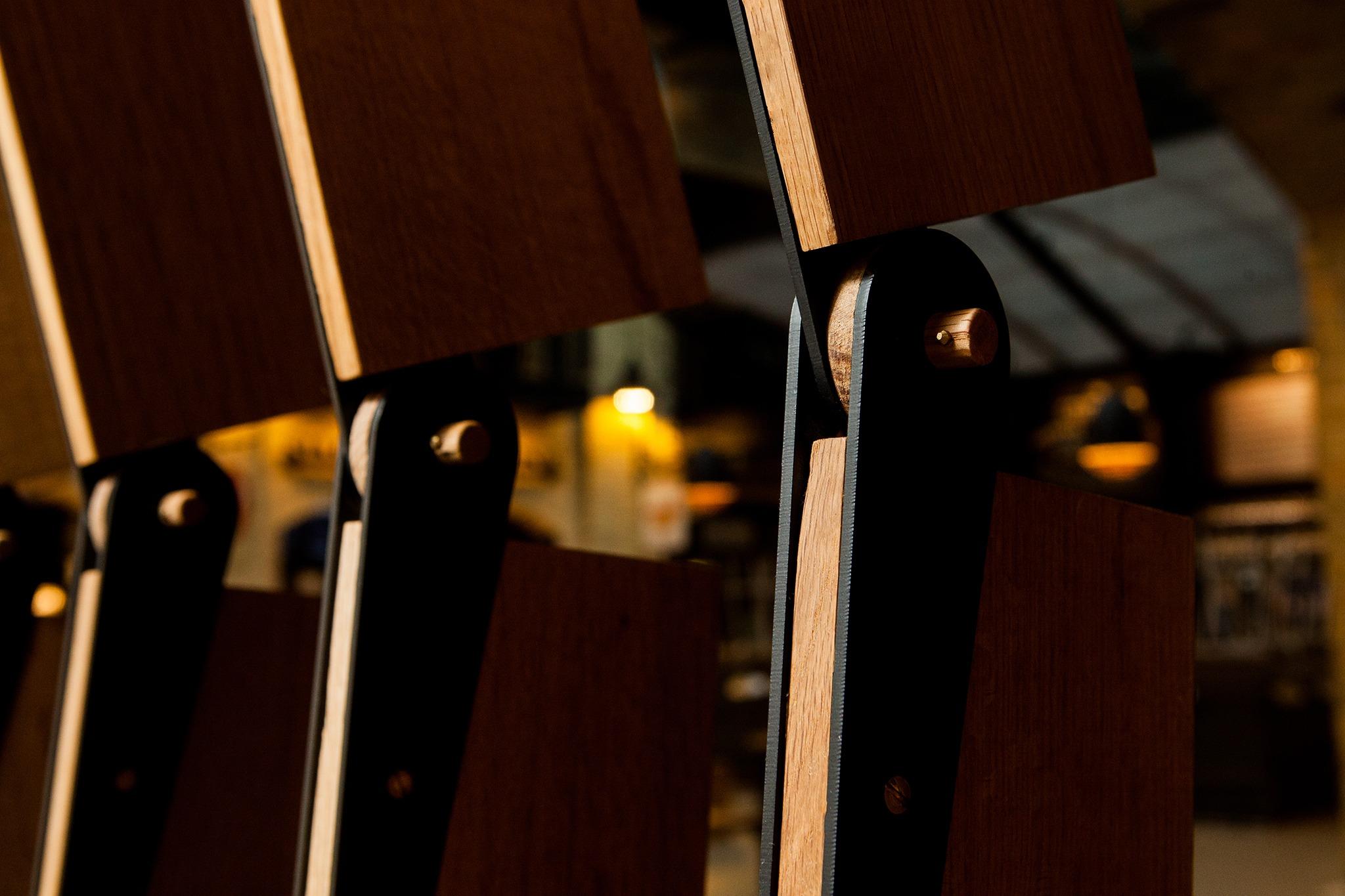 Design-Built Custom Furniture for Passero Restaurant