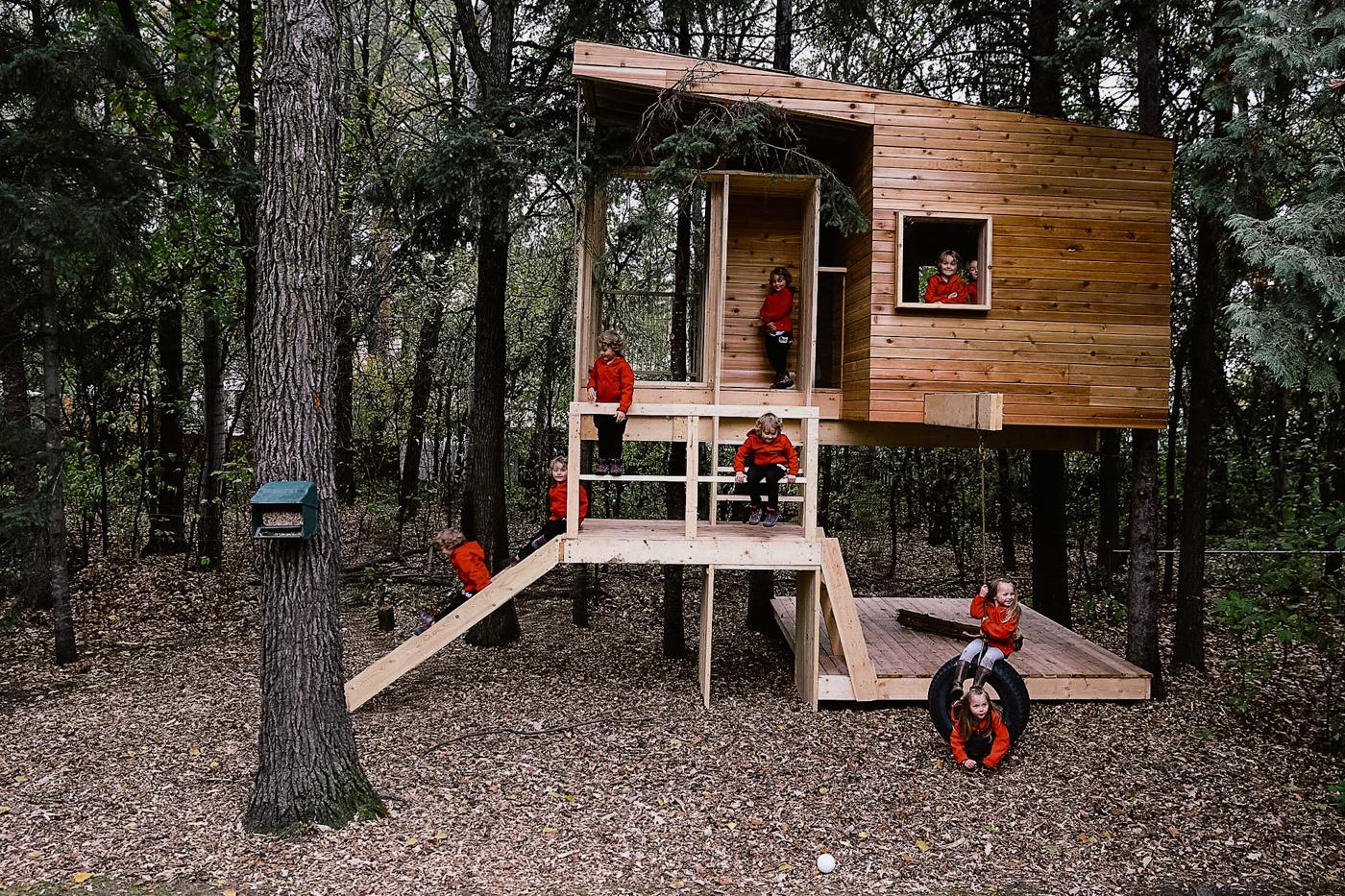 Design-Built Custom Treehouse