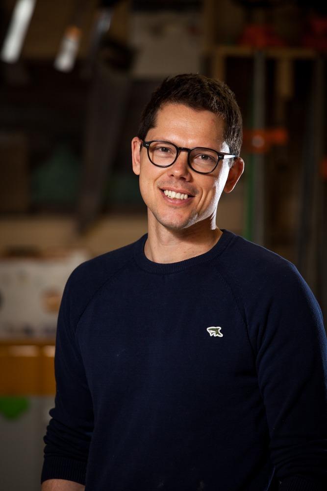 Portrait of Design-Built Owner Clayton Salkeld